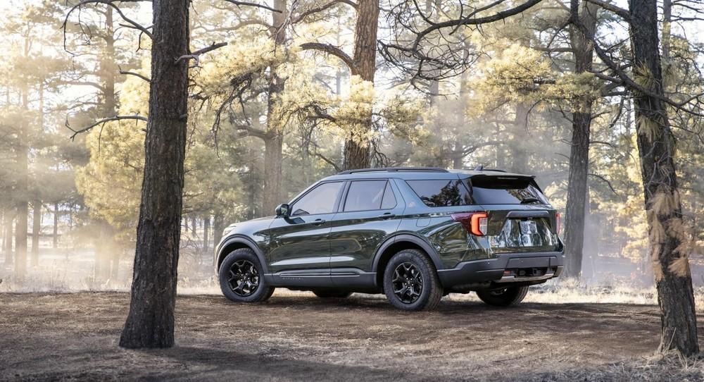 Ford Explorer Timberline 2021 có tổng cộng 7 chế độ lái
