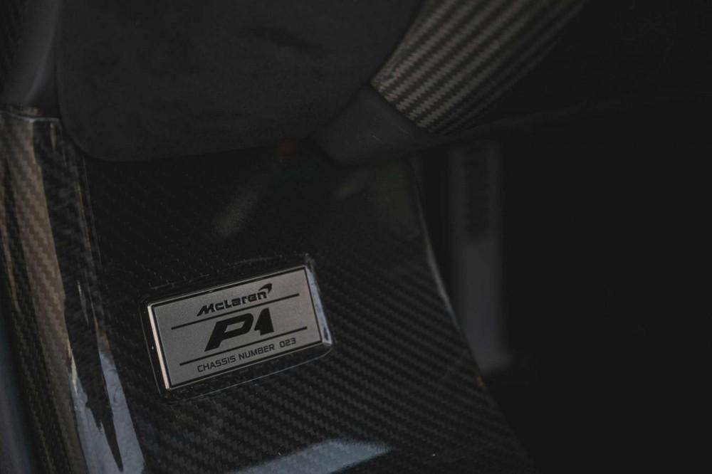 Chiếc xe McLaren P1 này có số thứ tự 23 nhưng lại được người rao bán cho rằng xe đầu tiên