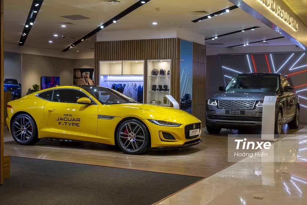Jaguar Land Rover cũng mới khai trương Studio trưng bày xe và phụ kiện của mình.