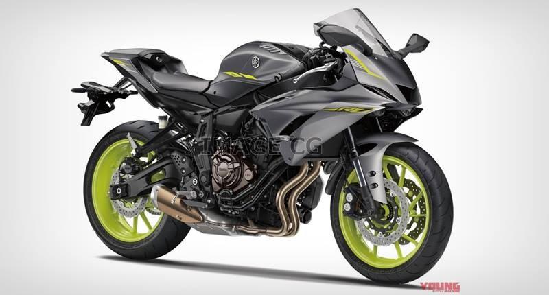 Hình ảnh dự đoán trước đây về Yamaha R7 đến từ Youngmachine