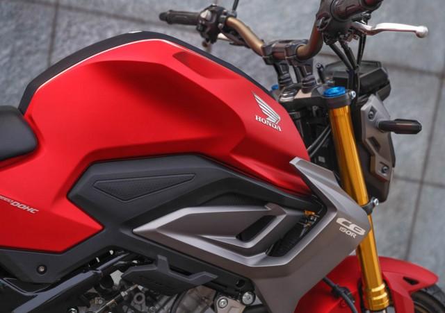 Vẻ đẹp đầy hấp dẫn trên Honda CB150R SF 2021