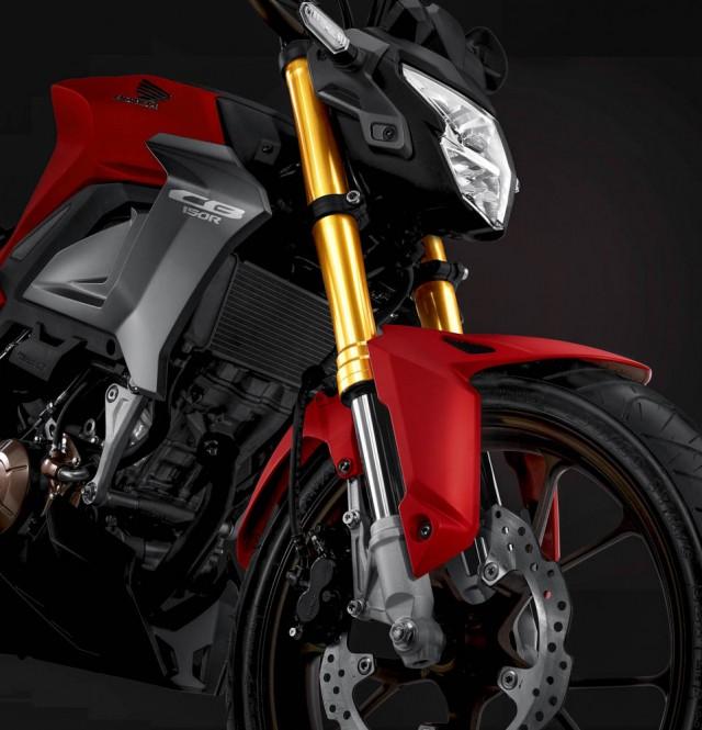 Thiết kế đẹp mắt, trang bị hiện đại trên Honda CB150R SF 2021