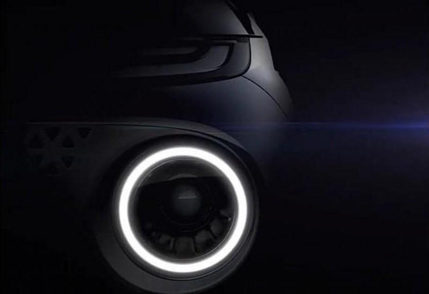 Đèn pha của Hyundai AX1