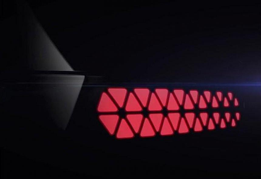 Cụm đèn hậu của Hyundai AX1