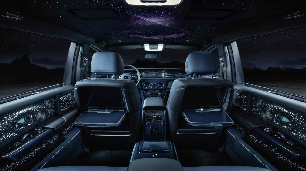 Không gian nội thất ấn tượng của Rolls-Royce Phantom Tempus