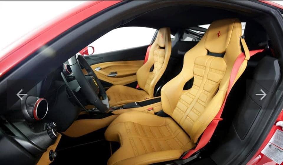 Nội thất chiếc siêu xe Ferrari F8 Tributo sắp về nước