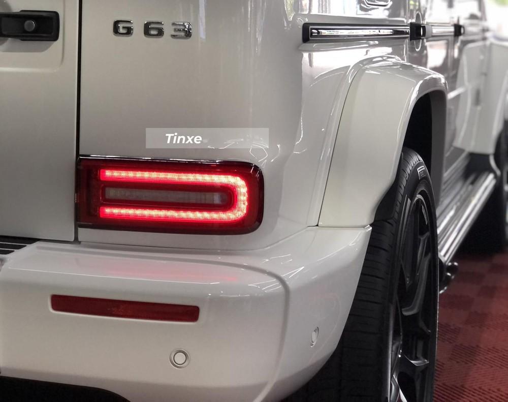 Mercedes-AMG G63 có đèn hậu nhỏ gọn hơn