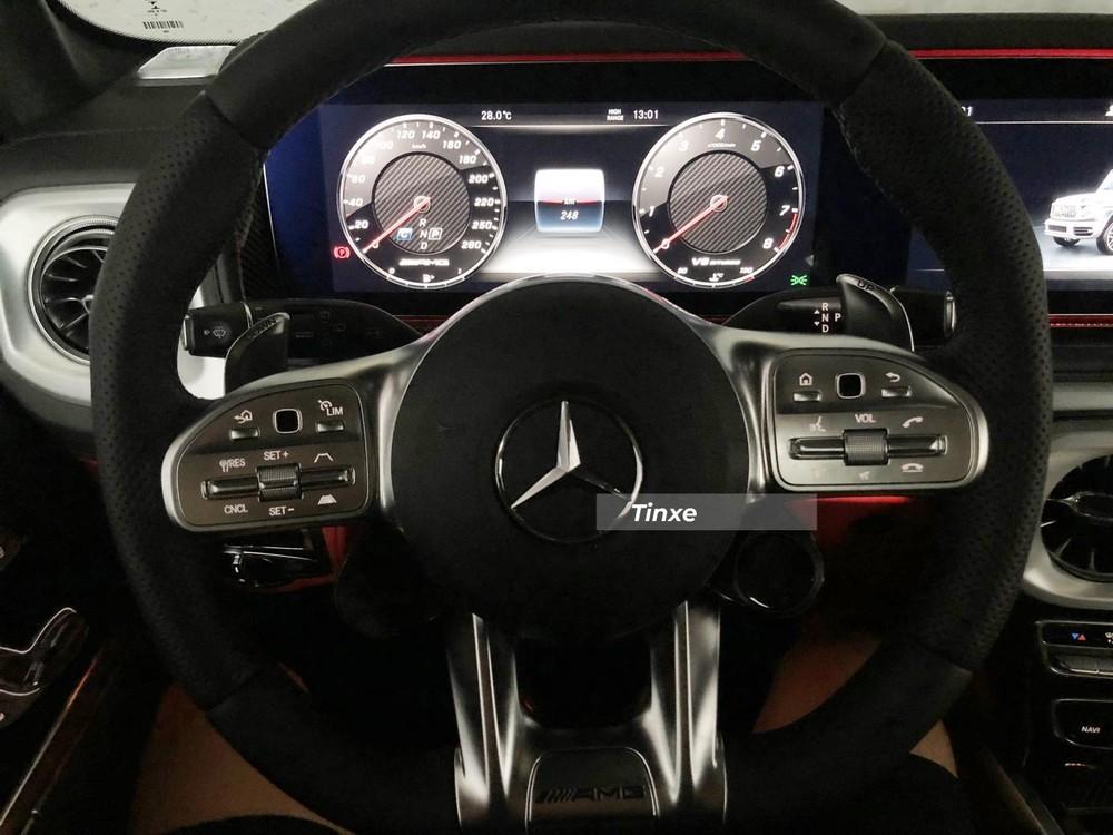 Mercedes-AMG G63 2021 đạt vận tốc tối đa 220 km/h