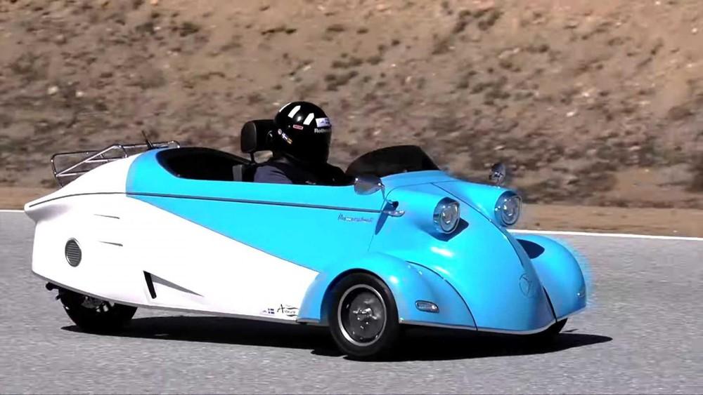 Messerschmitt Kabinenroller mới có thiết kế lấy cảm hứng từ xe nguyên bản