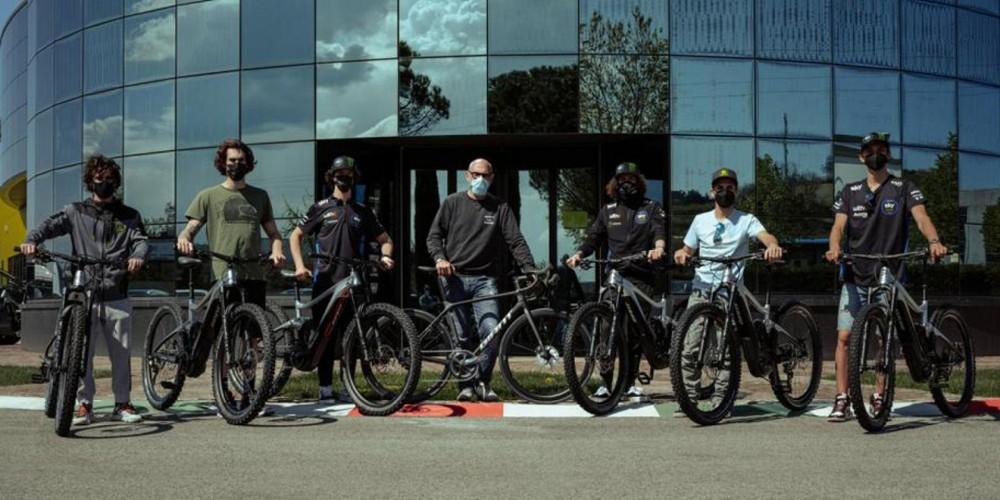 Hãng xe đạp nổi tiếng Giant sẽ tài trợ cho học viện đua xe VR46