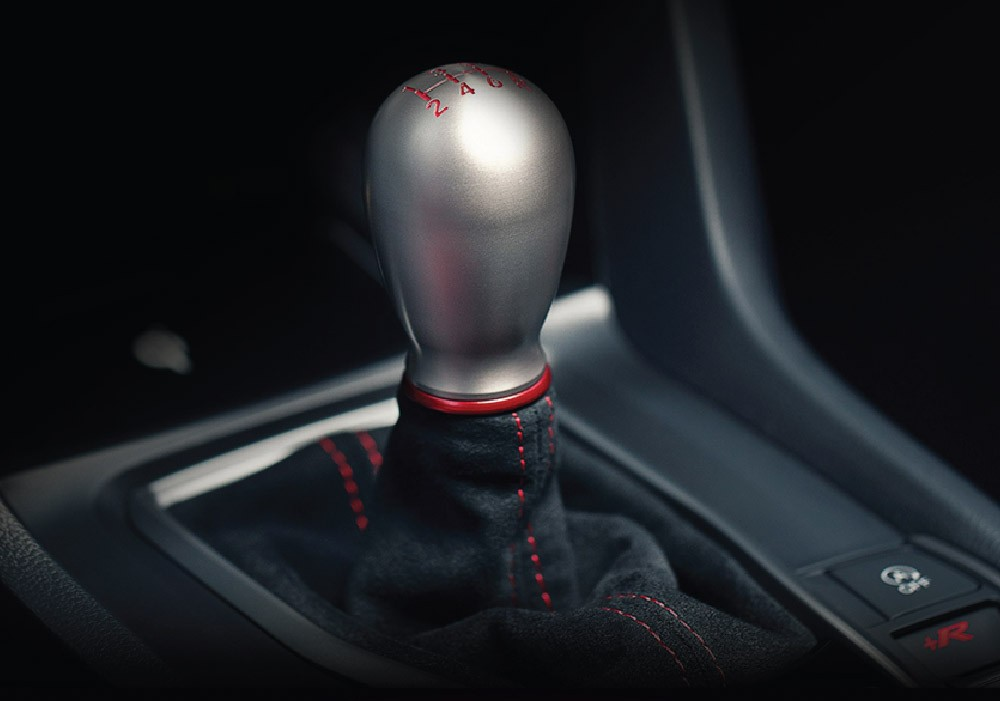 Cần số của Honda Civic Type R 2021