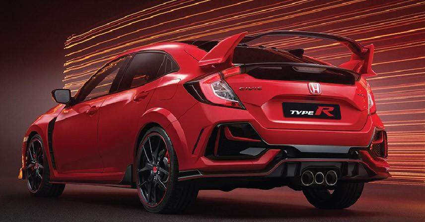 Honda Civic Type R 2021 không được bán ở Việt Nam