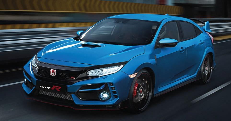 Honda Civic Type R 2021 chỉ thay đổi nhẹ trong thiết kế ngoại thất
