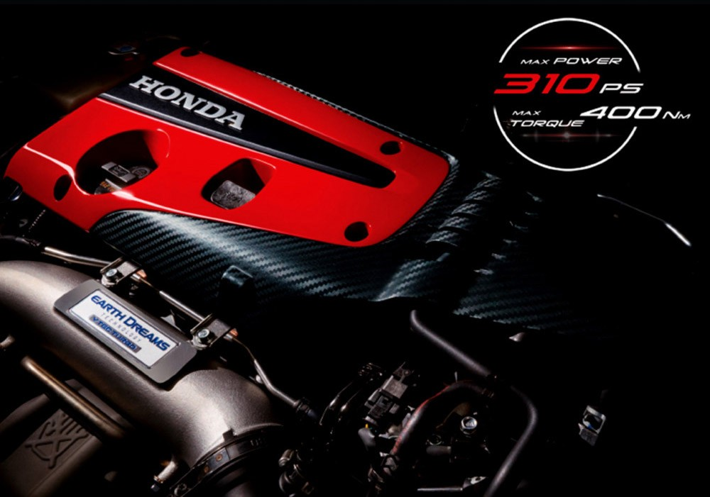 Động cơ của Honda Civic Type R 2021