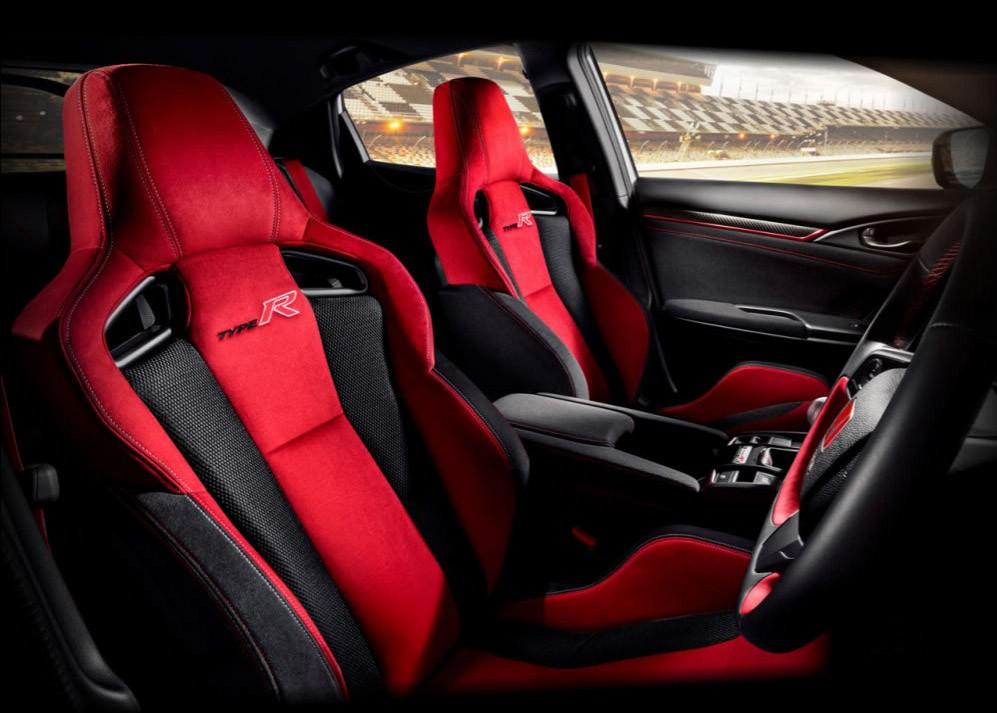 Ghế của Honda Civic Type R 2021