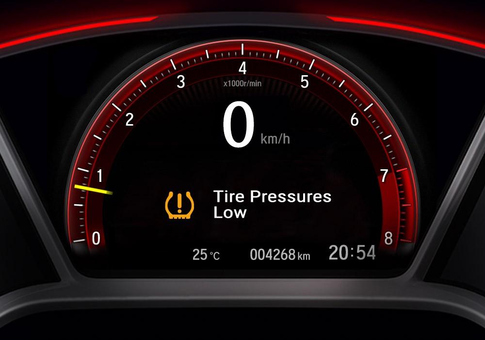 Bảng đồng hồ của Honda Civic Type R 2021