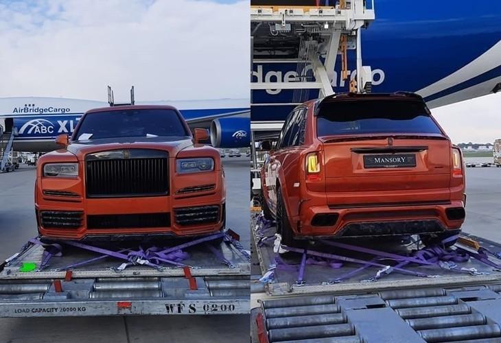 Rolls-Royce Cullinan độ Mansory