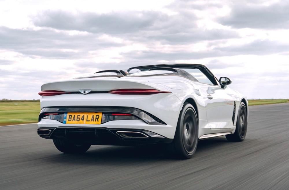 Thiết kế đằng sau của Bentley Bacalar Roadster Special