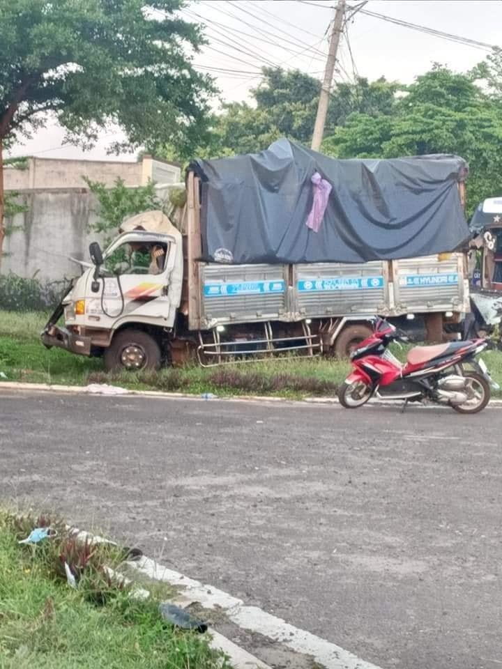 Vợ của tài xế ô tô tải đã tử vong sau vụ tai nạn nghiêm trọng