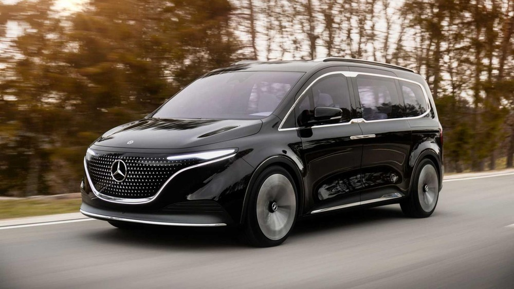 Mercedes-Benz EQT nhìn trực diện