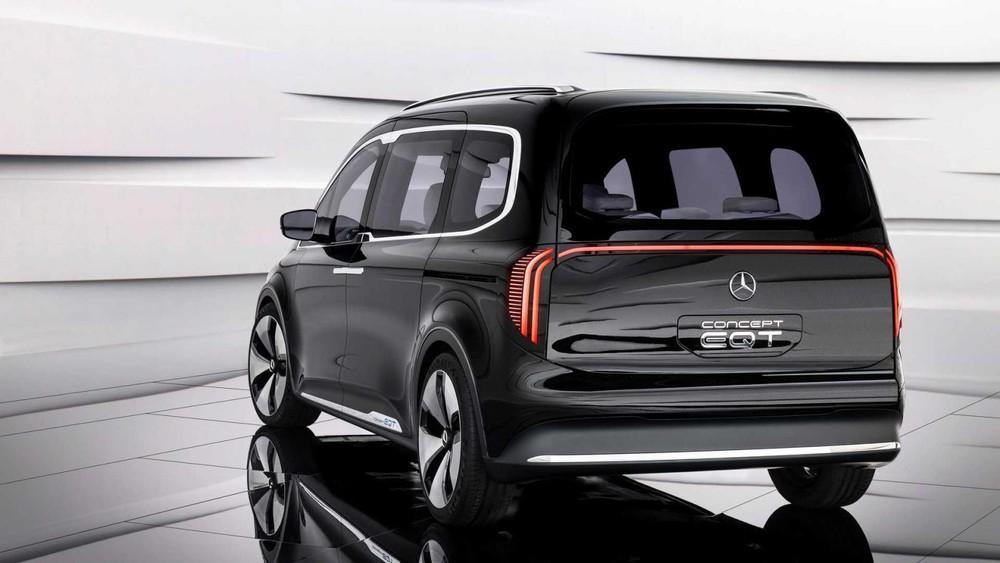 Thiết kế đằng sau của Mercedes-Benz EQT