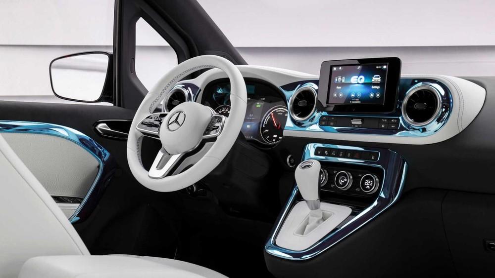 Mercedes-Benz EQT có hệ thống định vị dành riêng cho xe điện