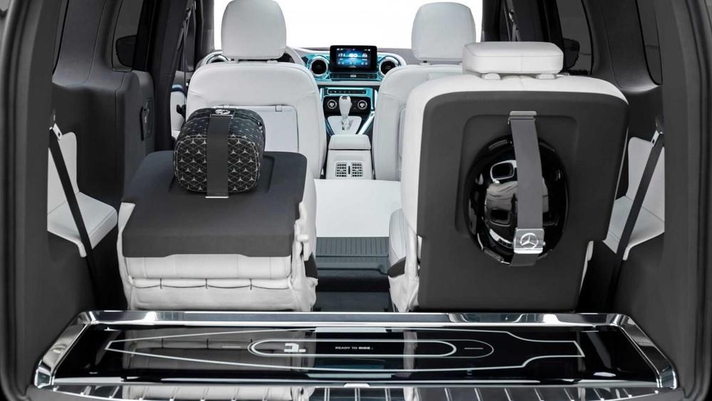 Mercedes-Benz EQT có nội thất bọc da Nappa