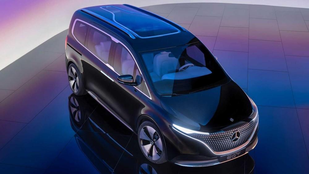 Mercedes-Benz EQT là xe van cỡ nhỏ