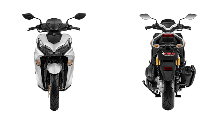 Yamaha NVX 155 VVA Xám Bạc