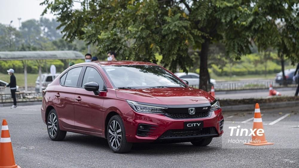 Ở tháng 3 trước đó, Honda City 2021 bán được tới gần 1.200 xe.