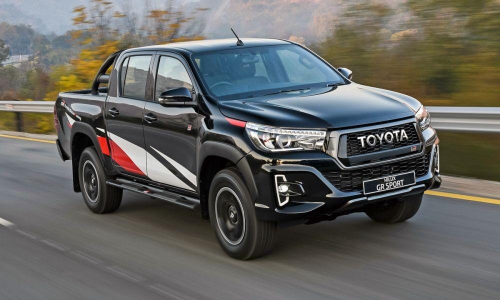 Toyota Hilux GR Sport cũ dành cho thị trường Nam Phi