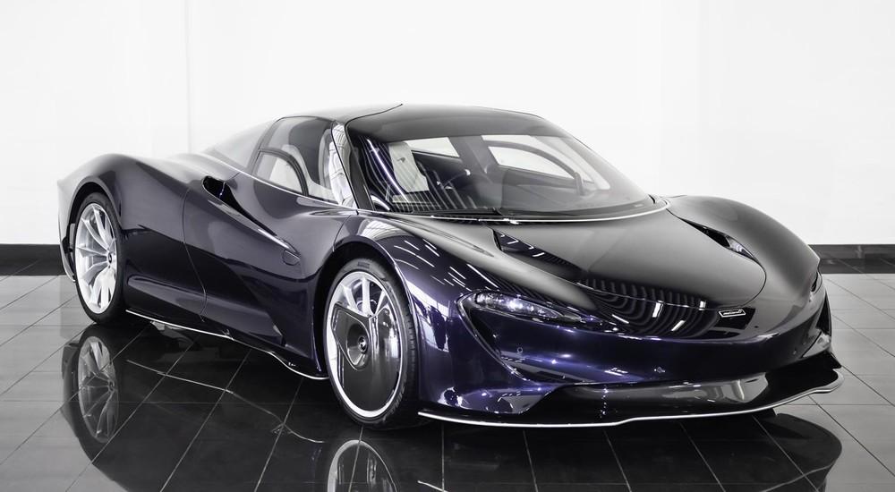 Siêu phẩm McLaren Speedtail có số đồng hồ công tơ mét 1km được hét giá hơn 80 tỷ đồng