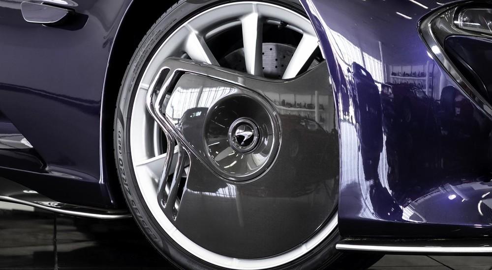 Bộ mâm trước cá tính của McLaren Speedtail