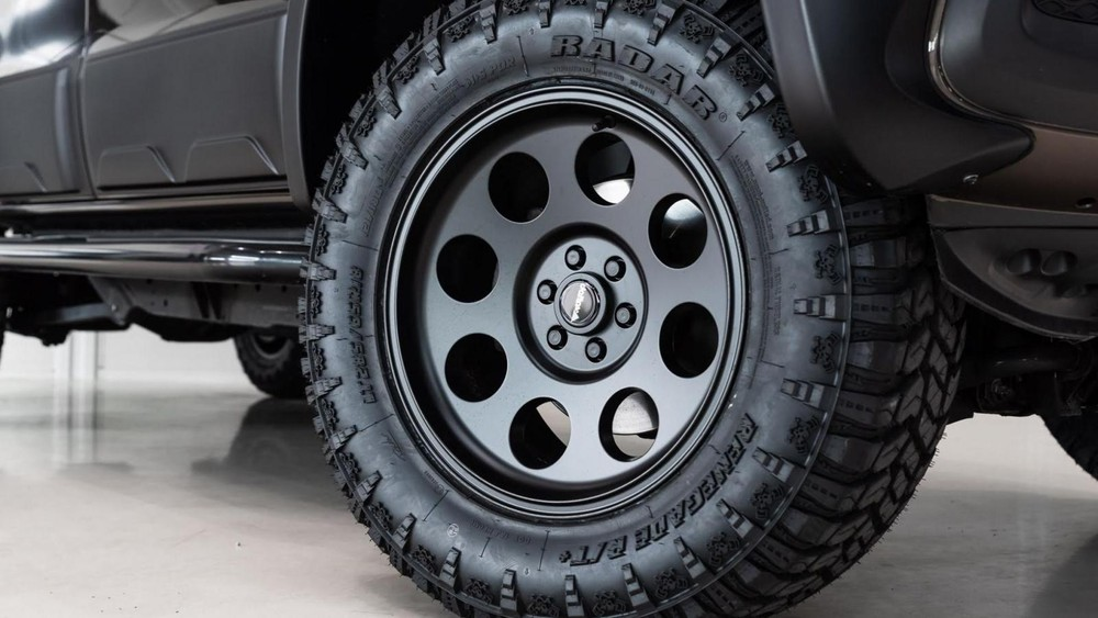 Bánh xe off-road của Mercedes X-Class 6x6