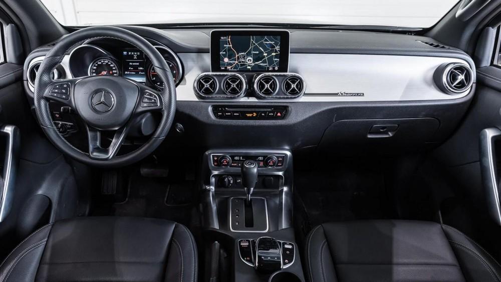 Nội thất của Mercedes X-Class 6x6