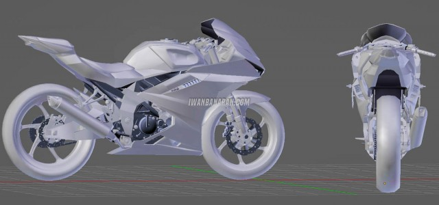 Bản vẽ thiết kế Suzuki GSX-R150 thế hệ mới