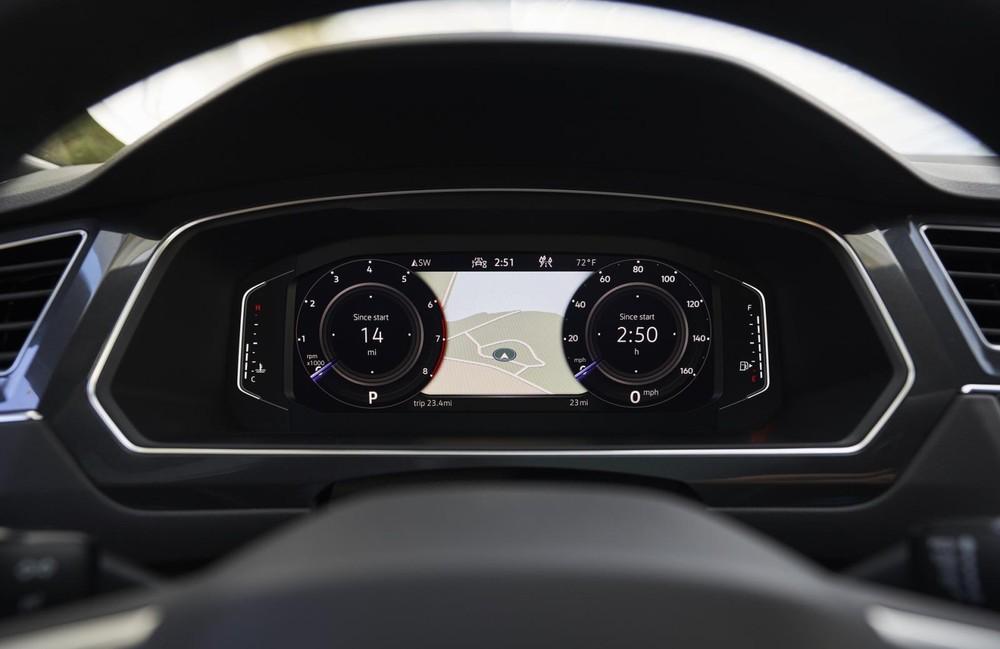 Bảng đồng hồ của Volkswagen Tiguan Allspace 2021
