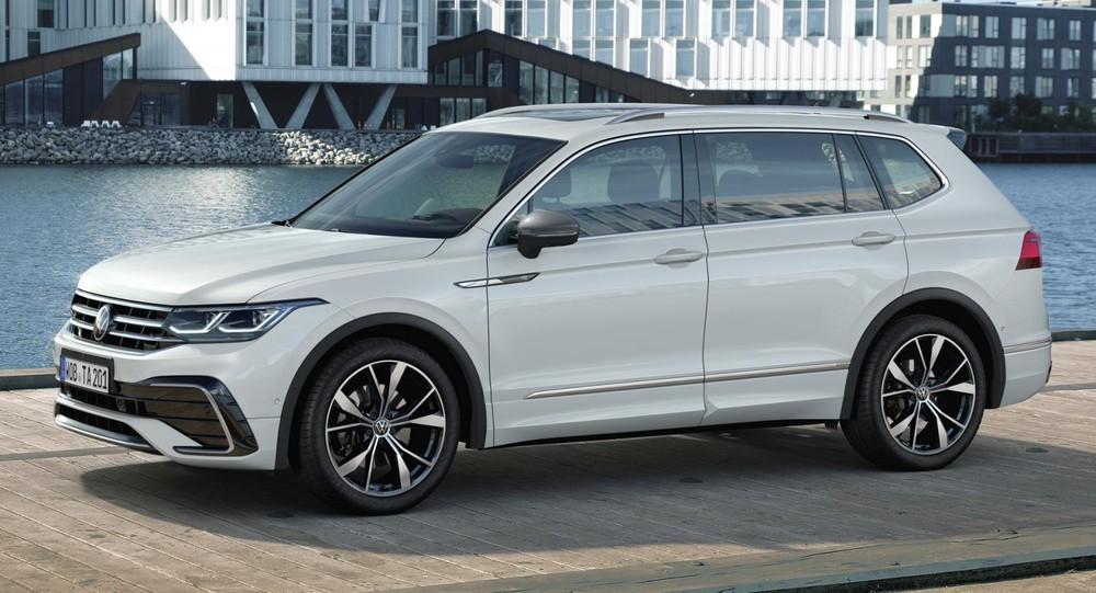 Volkswagen Tiguan Allspace 2021 với gói R-Line