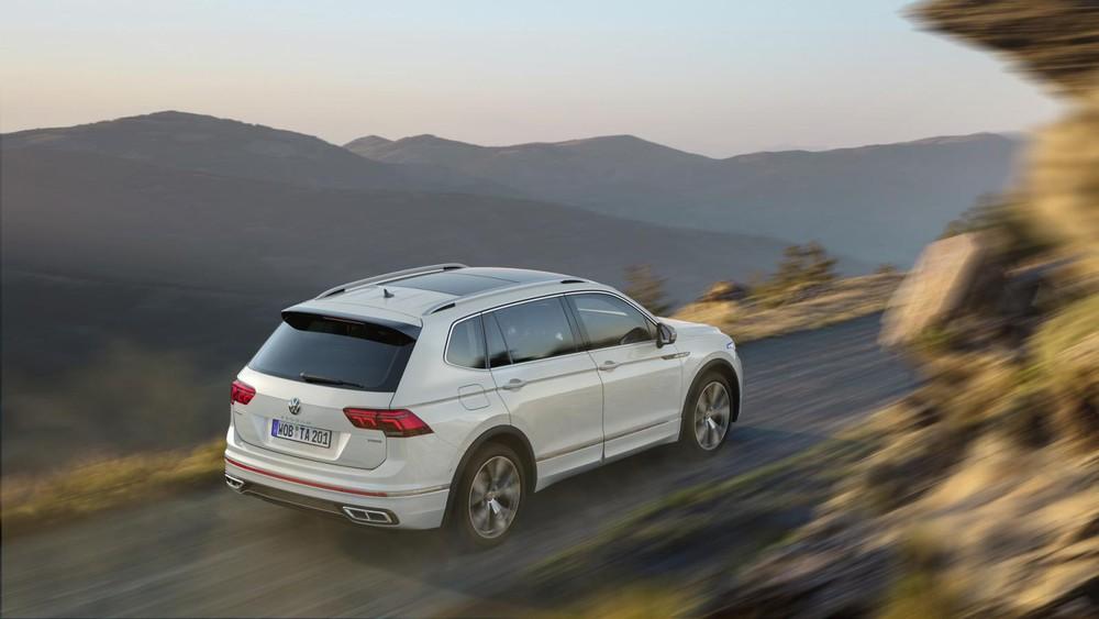Volkswagen Tiguan Allspace 2021 không có phiên bản eHybrid và R