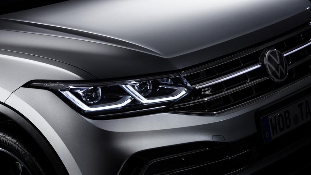 Cụm đèn pha của Volkswagen Tiguan Allspace 2021