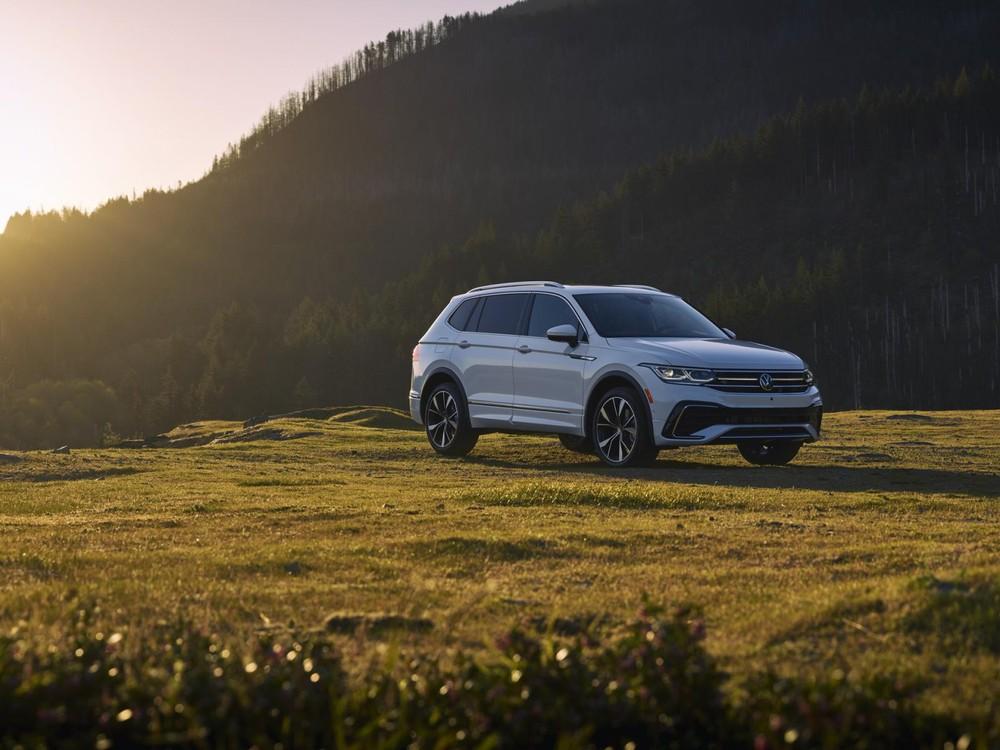 Volkswagen Tiguan Allspace 2021 có 5 tùy chọn động cơ