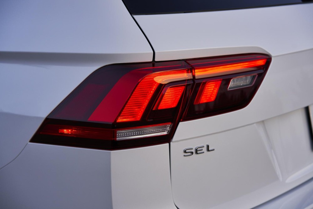 Đèn hậu của Volkswagen Tiguan Allspace 2021