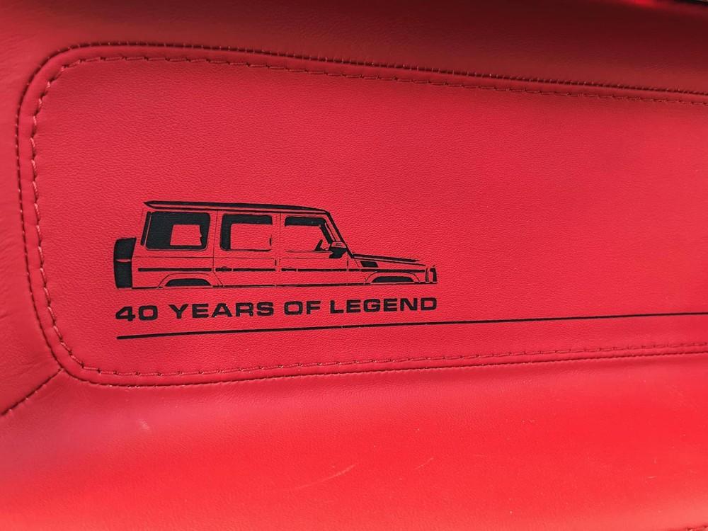 Điểm nhận biết rất thú vị của SUV hạng sang Mercedes-AMG G63 40th Years Of Legend đến từ nhà độ Carlex Design