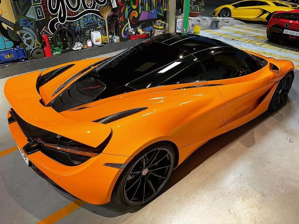 McLaren 720S này từng chung nhà với Ferrari SF90 Stradale, Lamborghini Aventador SVJ cùng nhiều siêu xe khủng khác