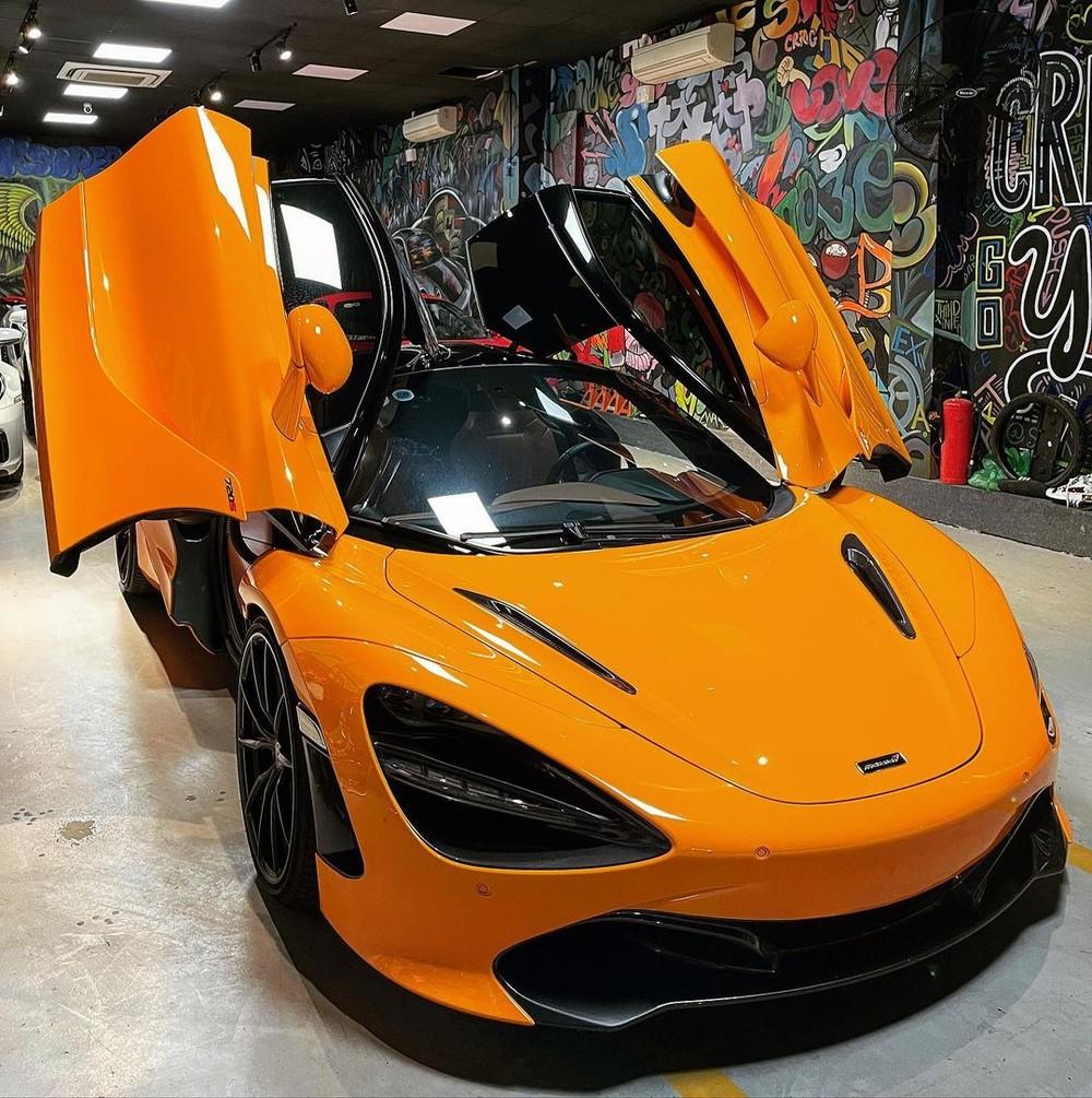 Siêu xe McLaren 720S này mới về đội Vũng Tàu