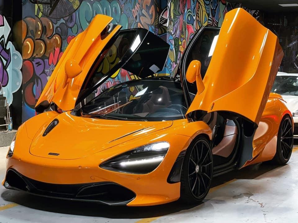 Chiếc siêu xe McLaren 720S này đã được độ mâm HRE