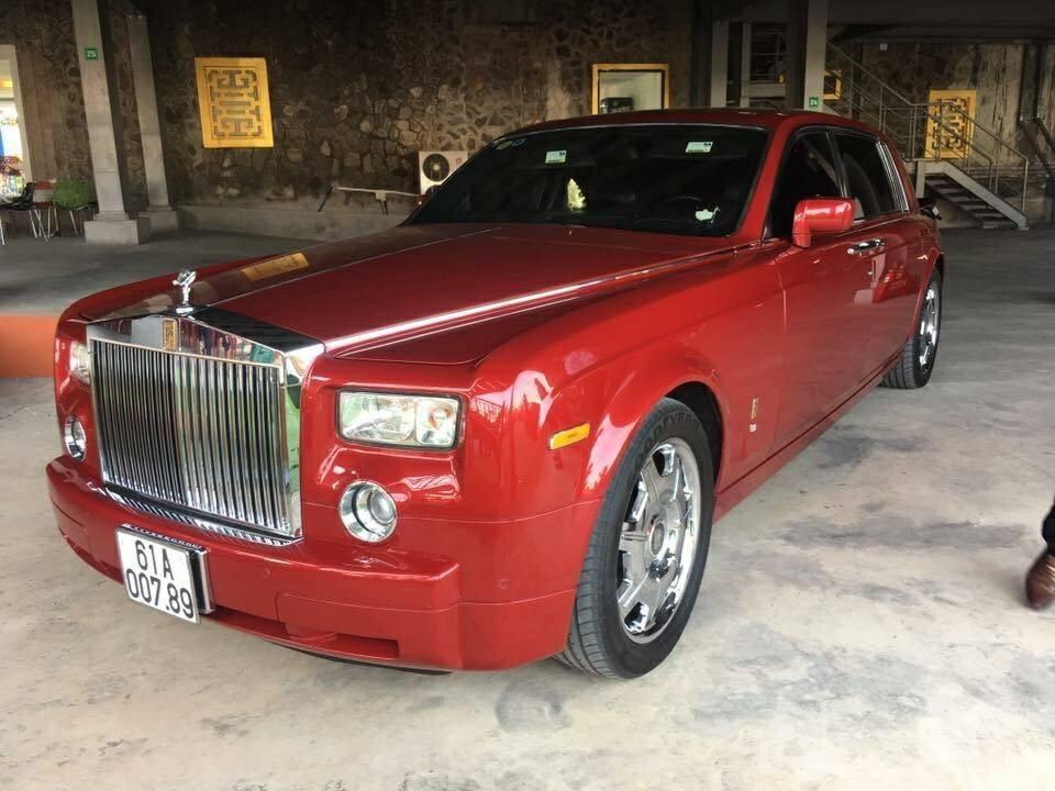 Rolls-Royce Phantom này từng của ông Dũng Lò Vôi