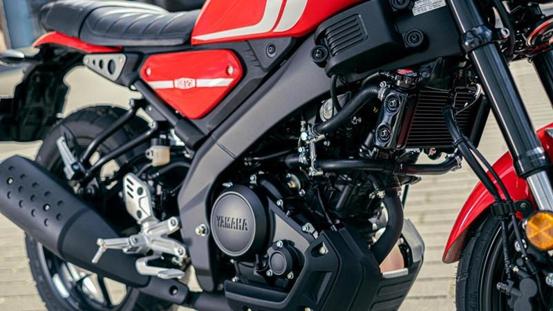 Khối động cơ SOHC thừa hưởng từ Yamaha MT-125 tại Châu Âu