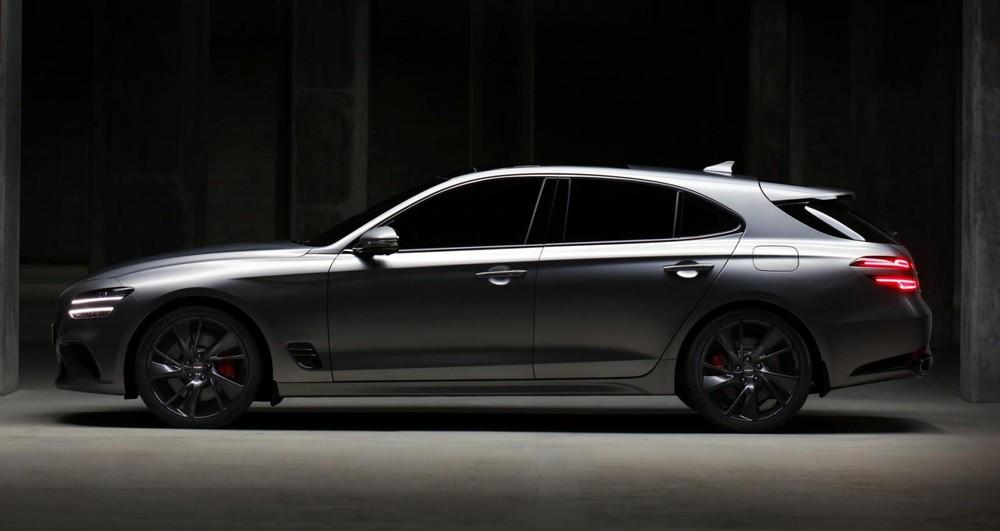 Genesis G70 Shooting Brake có kích thước giống phiên bản sedan
