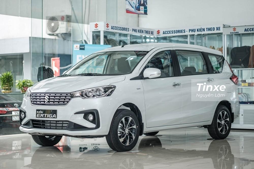"""Ở tháng 4/2021, Suzuki Ertiga lần đầu tiên lọt top xe """"ế"""" nhưng không phải do thiếu sức hút mà là do khan hàng."""